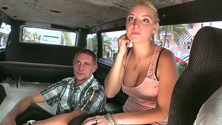 Mercedes Monroe Is Showing Her Fancy Tits To The Guy And Gives Him A Chance To Touch