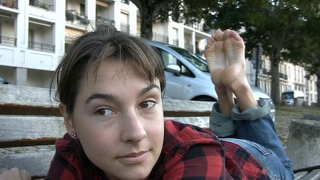 Barefoot French Teen