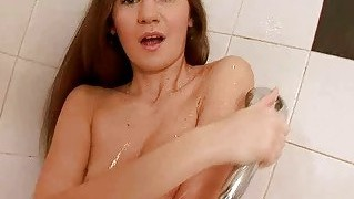 Sexy Teen Fucking Her Ass With Big Dildo