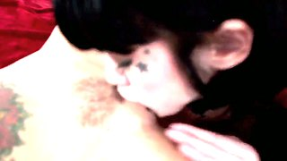 Crazy Brunettes Asphyxia And Christy In Amazing Lesbian Action