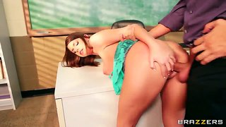 Brooklyn chase is hard fucking our best pornstar keiran lee