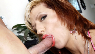 This Well Aged Slut Sucks And Fucks An Eager House Guest!
