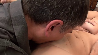 Teen Loves Older Men And Looking At Porno Leads To A Fuck