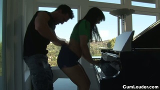 Ashli Orion Shows Her Piano Skills And Fucks Very Dirty