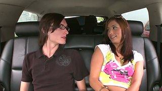 Reena Sky Is Enjoying Porn Drive, Rollers And Cafe