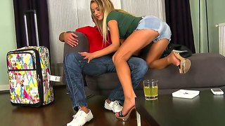 Adele Sunshine And Renato Are Having The Best Fuck That Makes Them Moan And Scream