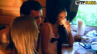 Wondeful Sex Party In The College With Wonderful Teens