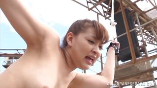 Japanese Babe Tied Up And Fucked