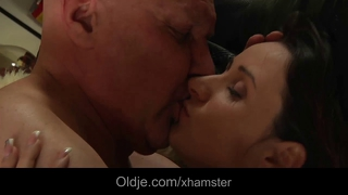 Oldman Fucking His Horny Younger Wife