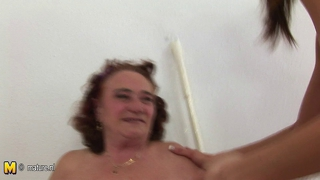 Mature Mother Fuck A Hot And Horny Lesbian Teen