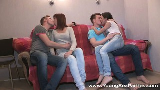 Young Sex Parties - Calling A Friend For A Sex Party