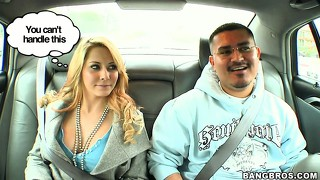 Sexy madison ivy gets frisky with a mexican dude off the street