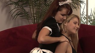 Hot Lesbian Fucking Scene Of Naughty Annabelle Lee And Sweet Samantha Ryan!