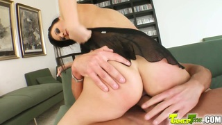 Teen Lula's Ass Is Rocked Like A Hurricane