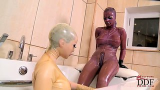 Black angelica and latex lucy have bizarre session