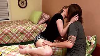 Enjoy Handsome Chad Alva Hammering Nice Voluptuous Horny Chick Lily Labeau
