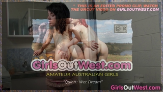 Girls Out West - Tattooed Teen In The Shower