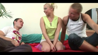 Cute Russian Teen Dulcinea Spoiled Her Virginity