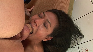 Sexy Asian Cunt Lyla Lei Getting Her Mouth Fucked