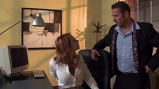Sexy Secretary Tarra White Pleases Her Hot Boss