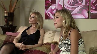 Milf Pornstar Nina Hartley Seduces Teen Nicole Ray