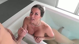 Busty Milf Enjoys Sex Along Younger Partners In Nasty And Wild Threesome Porn