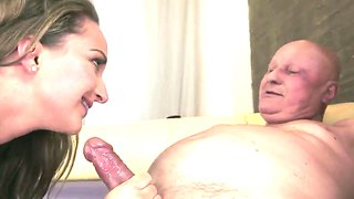 Vicky finds a great relationship with an older guy