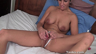 Tickling Her Piercied Clitoris