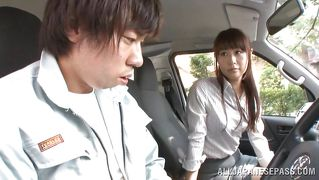 Getting Dirty With A Nippon Milf In The Van