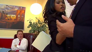 Cindy Starfall And Kyle Ston Star In This Hot Domineering Scene.