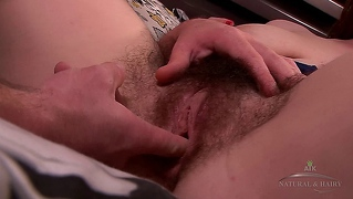 Hairy Babe Getting It