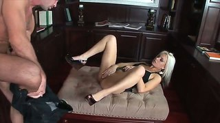 Barbie Addison Gets Screwed In Mini Skirt