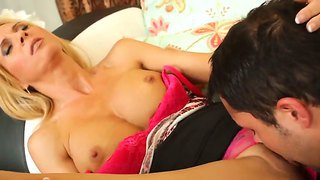 Young Guy Kris Slater Always Dreamed To Fuck His Friend's Mom Whose Name Is Brooke Tyler