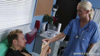 Black Doctor Sucks Cock