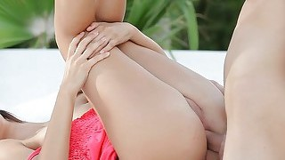 Skanky Teen Bianca Ass Fucked Outdoors