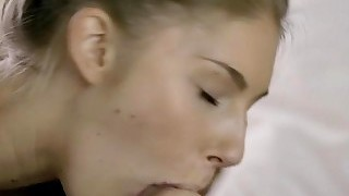 Adorable Teen Anjelica Fucked On The Bed