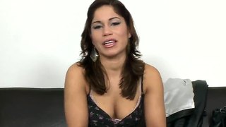 Laura Moreno Does Her Very First Porno Scene