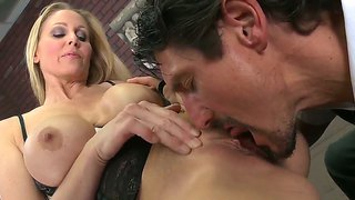 Julia Ann Takes An Oral Exam With Her Student