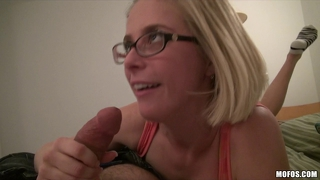 Horny Blond Student Penny Pax Takes Study Break To Fuck