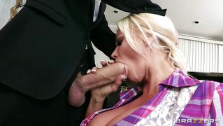 Huge Cock For A Sensual Blonde Mom
