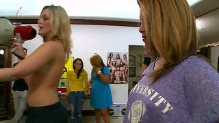 Alexis Fawx And Alexis Texas At The Kinky Party