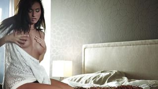Naughty Beauty Undresses And Plays With Herself