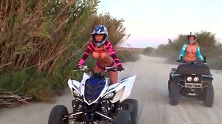 Avy scott and molly cavalli les out off-road