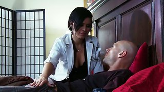 Nasty Doctor Eva Angeline Fucks Her Patient