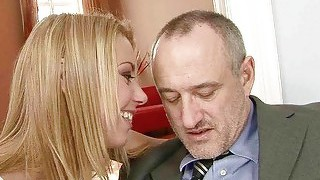 Beautiful Teen Fucking With Old Man