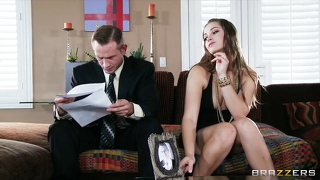 Young Wife Dani Daniels Fucks Her Husband's Business Partner