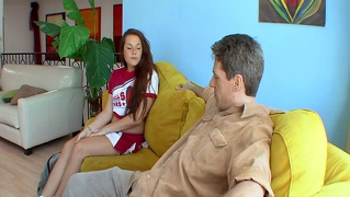 Teamskeet Young Small Tits Tattoedbrunette Cheerleader Talia...
