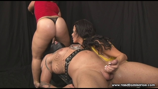 Handjob Female Domination