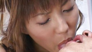 Asian Chick Dominates Her Boy