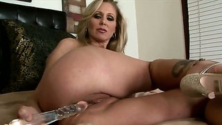 Julia Ann Makes Waves For The Man On The Boat